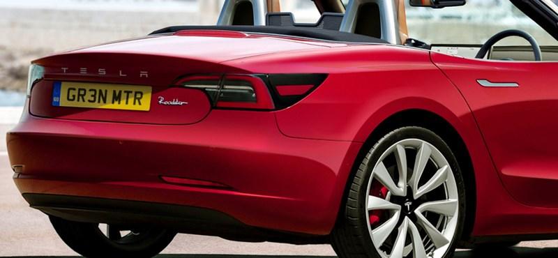 Mint egy elektromos MX-5: íme a nyitható tetejű Tesla Model 3 kupé