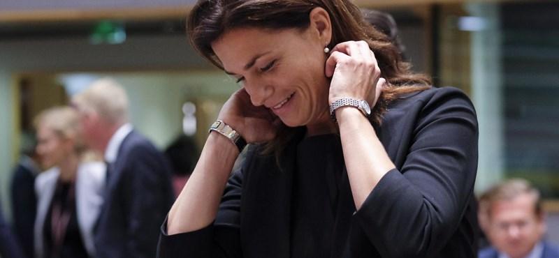 """Varga Judit nyílt meghallgatást javasolt Brüsszelben, de """"mások"""" ezt nem akarták"""