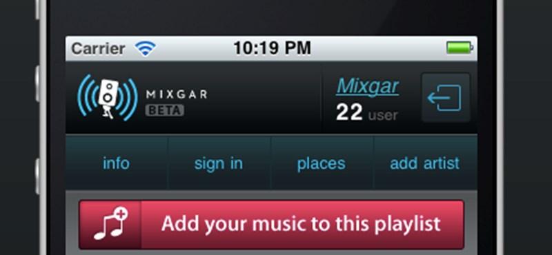Mixgar: kipróbálható a magyar közösségi zenegép