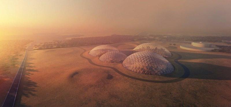 A Marson épülne a következő Dubaj, akár így is kinézhet