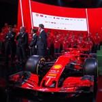 2018-as vörös ördög: íme az idei Ferrari F1-autó, mutatjuk
