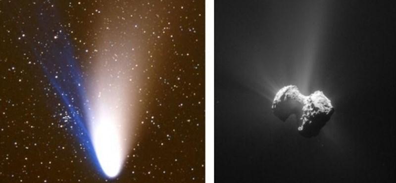 Hegyomlás volt egy üstökösön, és ezt sikerült megfigyelni is