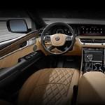 Ez a belsőtér nem egy Bentley-é, hanem egy Kia-é