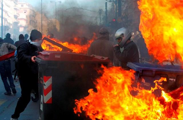 Zavargások Görögországban