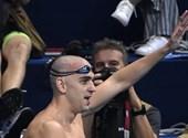 László Cseh terminó su carrera con un gran baño en el video