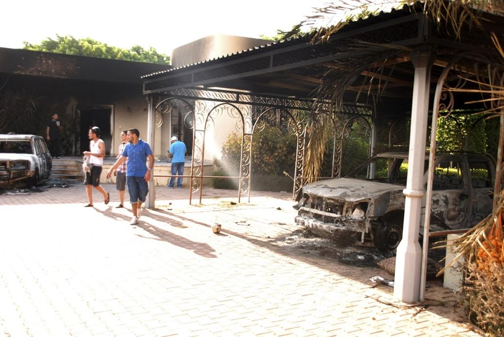 Bengázi - támadás az amerikai követség ellen - Chris Stevens meghalt