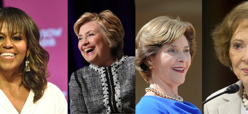 Az összes volt first lady kiakadt a migránsgyerekek elválasztásán