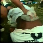 Videó: fotósállvánnyal verekedett egy brazil focista