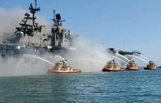 Környezeti katasztrófával fenyeget a San Diegóban második napja lángoló amerikai hadihajó