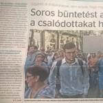 Nem hiszik el, mivel bizonyítja a kormánypropaganda, hogy Soros szervezte a tüntetést
