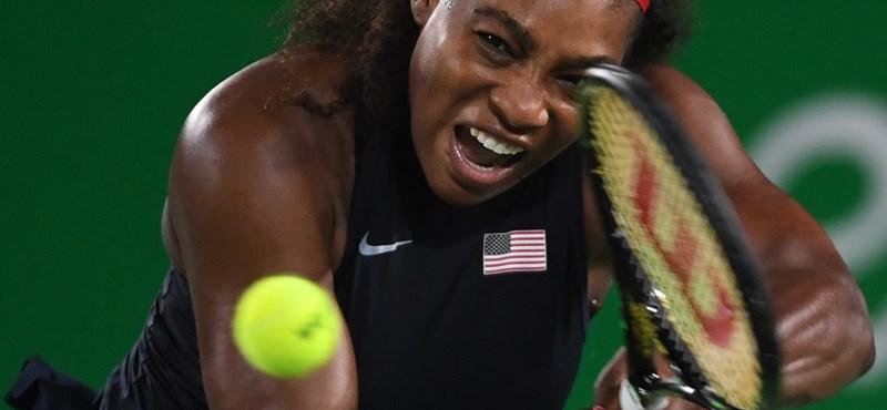 Serena Williams kislányával pózol a Vogue címlapján