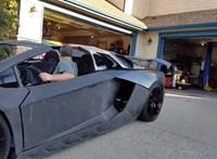 Videó: Mozgásban a 3D-printerrel nyomtatott Lamborghini