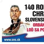 Fotó: Orbán is szerepel Slotáék plakátján