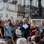 A gyerekeknek és a pedagógusoknak is játszott a tiltakozó Budapesti Fesztiválzenekar