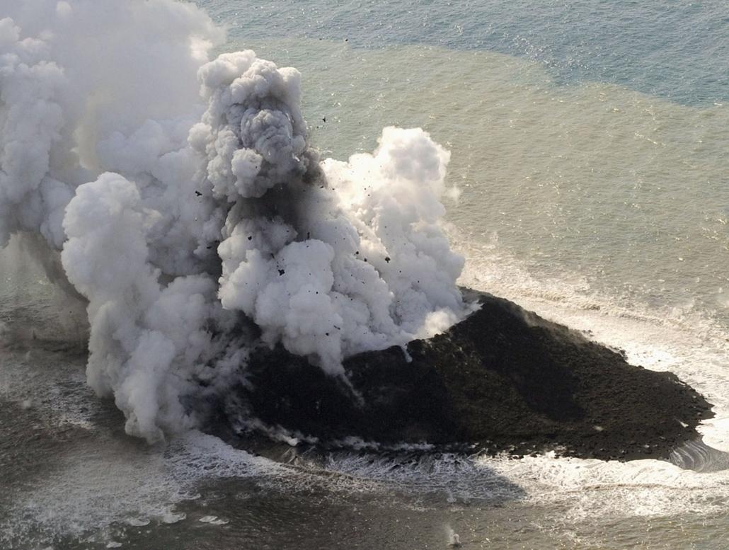 AP! november 29! Új japán sziget, Nisinosima, 2013. november 21.