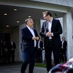 Orbán Viktor elutazott Belgrádba a koronavírus miatt