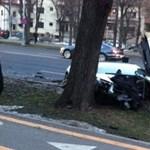 Kivégeztek egy Lamborghini Murcielagót Bukarestben - fotók