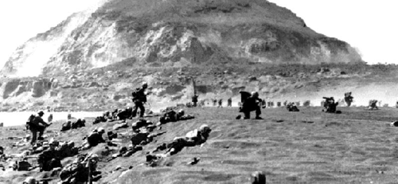 Iwo Jima: véres ütközet – legendás fotó