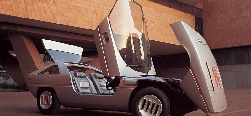 Egyszerre időkapszula és űrhajó ez a 70-es évekbeli Alfa Romeo