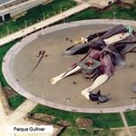 Kötözzük le Gullivert! Zseniális játszótér Spanyolországban