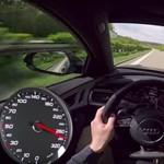Videó: így gyorsul 0-ról 280+ km/h-ra a 750 lóerős Audi RS6 Avant