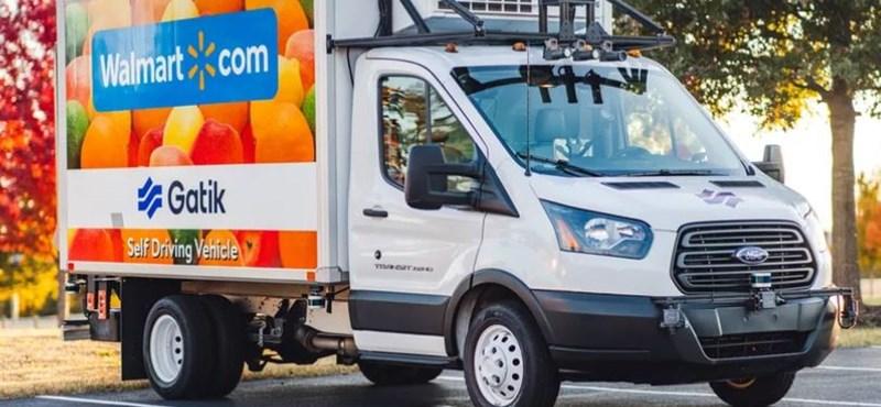 Önjáró furgonokkal kezd szállítani a Walmart