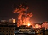 Izraeli-palesztin konfliktus: rakétatámadásra légi csapás volt a válasz hajnalban