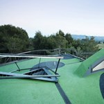 Golfpálya a háztetőn - ultramodern ház, hatalmas terasszal