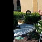 Járókerettel indult a boltba egy 93 éves férfi, hogy meglepje a feleségét