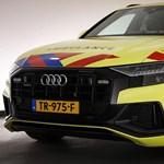 Biztos nagy kedvenc a mentősök közt egy ilyen 140 ezer eurós Audi Q8