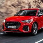 Itt a győri Audi Q3 legerősebb változata, a 400 lóerős RS
