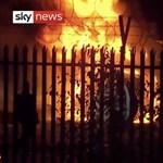 Hatalmas lángokkal égett a Leicester City tulajdonosának helikoptere - videó