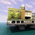 Ilyen lehet az első úszó város a Földön