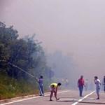 """Magyar turista a horvát erdőtűzről: """"csak törölközőn át lehetett levegőt venni"""""""