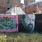 Eltüntették Bud Spencer graffitiportréját – fotó
