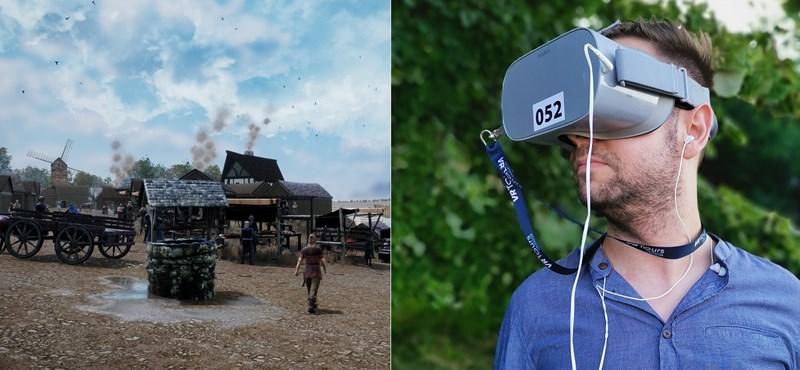 VR-sétára mentünk Budapesten, azt is láttuk, hogyan épült a Budai Vár