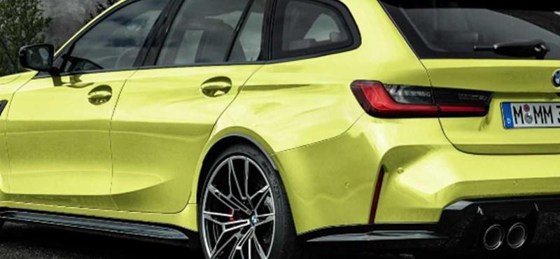 Szorgalmasan járja az utcákat az első kombi BMW M3-as