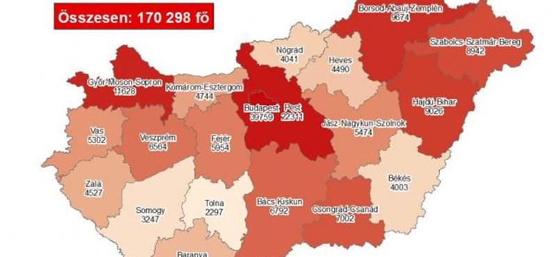 Koronavírus: 121 halott, 4397 új fertőzött Magyarországon