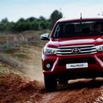 Európa is megkapta az új Toyota Hiluxot