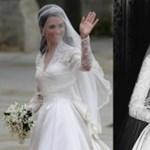 Kate Middleton esküvői ruhája másolat volt?