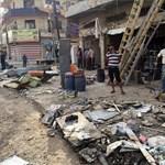 Videó: megint szörnyű pusztítást vitt végbe az Iszlám Állam