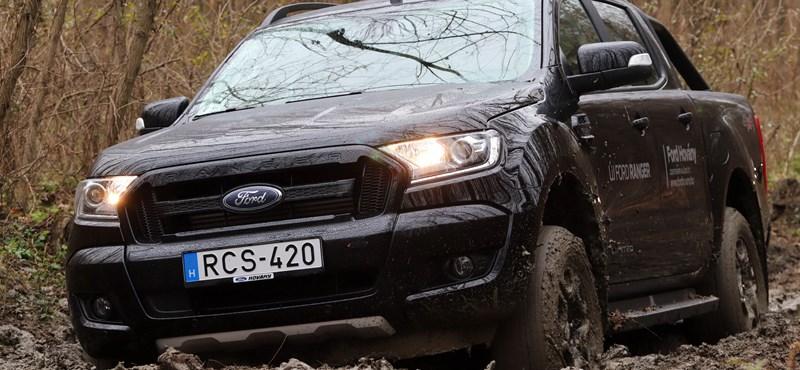 Nagyon terepes, kicsit divatos és áfa nélküli – sarat dagasztottunk a Ford Rangerrel