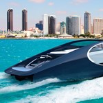 Nem elég az 1500 lóerős Chiron, most egy jachtot csinált a Bugatti