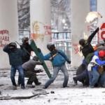 Friss fotók: eldurvult a helyzet Kijevben