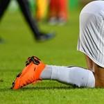 Becsapódással ért véget a balmazújvárosi foci mélyrepülése