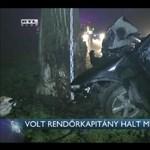 Szeged volt rendőrkapitánya halt meg a hétfő esti autóbalesetben