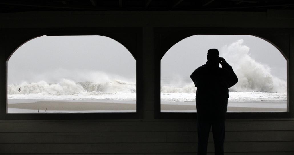 Cape May, New Jersey - Sandy hurrikán