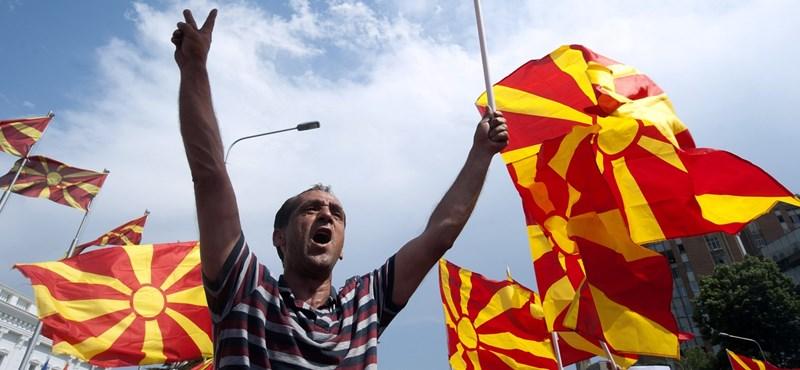 Balhé van Macedónia új neve miatt