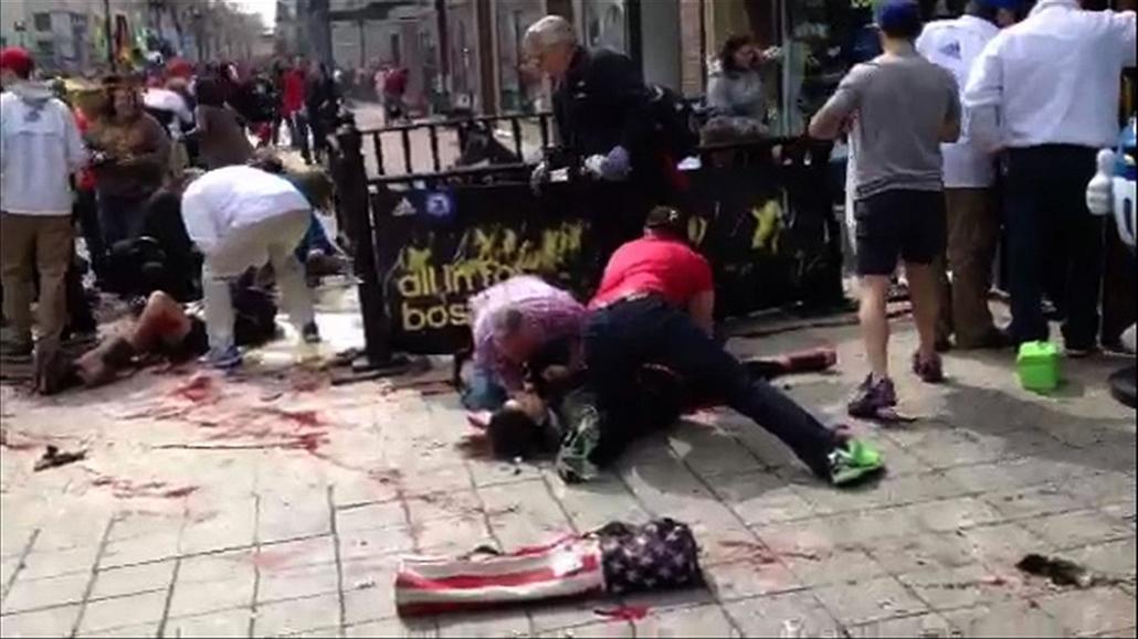 afp.TV - bostoni robbantás - percekkel később