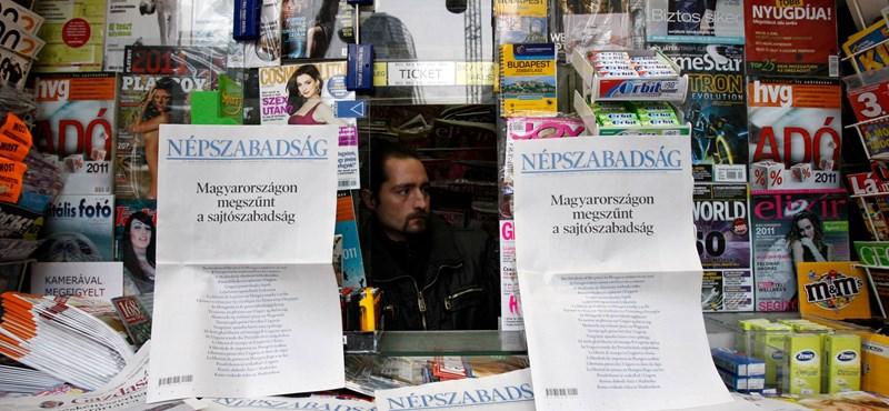 Magyarországon a sajtószabadság erősen korlátozott – így látják az emberek